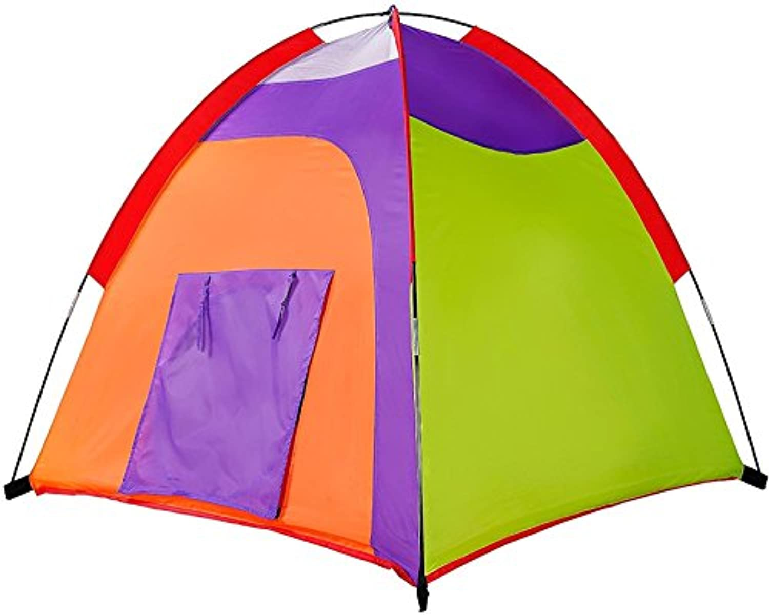 KidsテントColourful Curvy再生テントPop Up Tent Play TentsインドアアウトドアテントGreatゲーム& Toyギフトfor Children Fun by Alvantor