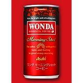 アサヒ 朝専用缶コーヒー ワンダモーニングショット 190ml缶30本入り
