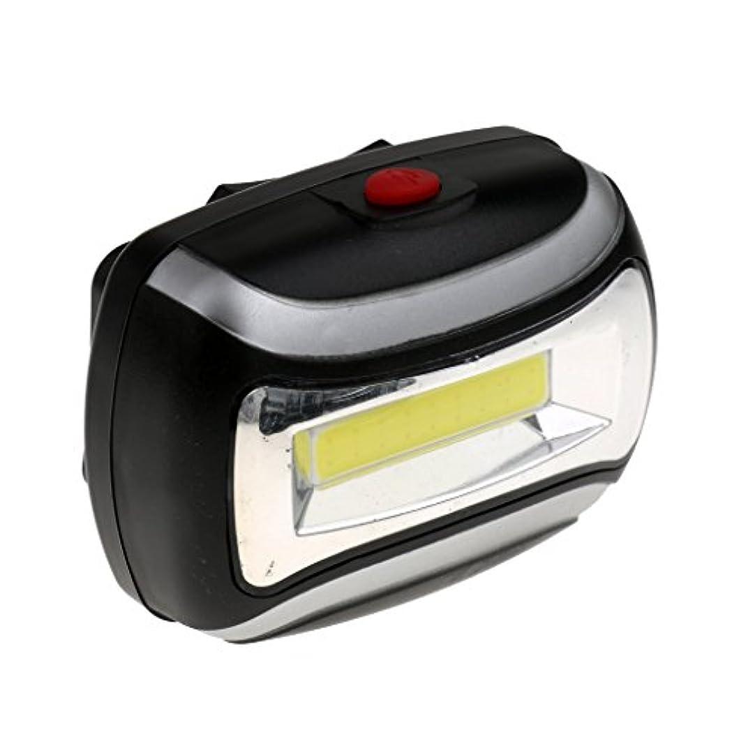 トラクタープロフィール誠意【ノーブランド品】防水 600LM COB ヘッドライト 3W LED ライト アウトドア サイクリング ヘッド ランプ 全4色選ぶ