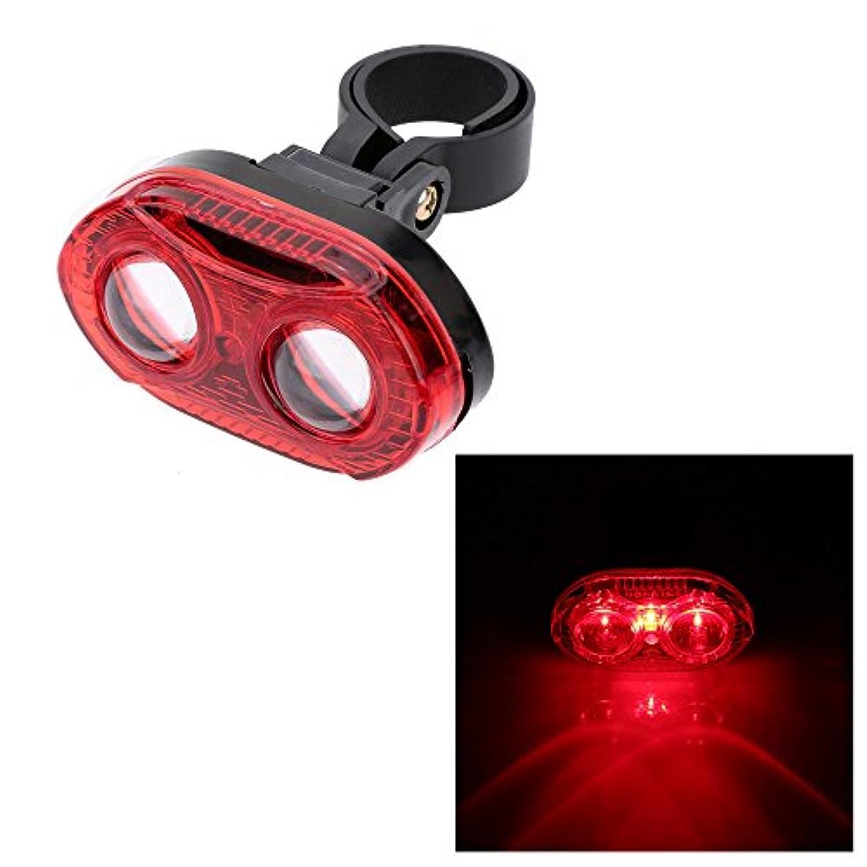 使用法メイトライドLixada サイクルリアライト、LEDサイクルフラッシュライト 3 LEDs+3モード 自転車ライト テールライト、後方も照らして夜間走行も安全に!