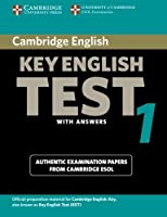 Cambridge Key English Test 1 Student's Book with Answers: Examination Papers from the University of Cambridge ESOL Examinations (KET Practice Tests) by Cambridge ESOL(2003-05-22)
