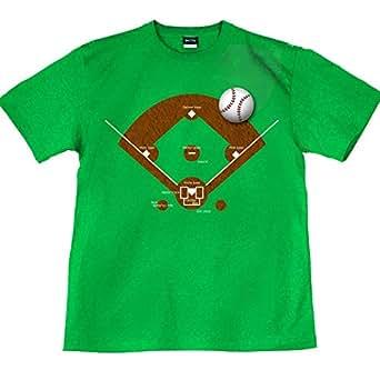 野球 スポーツ ユニフォーム ベースボール イベント 応援 グッズ 裏もデザインあり Brghit Green 緑 グリーン 90cm サイズ