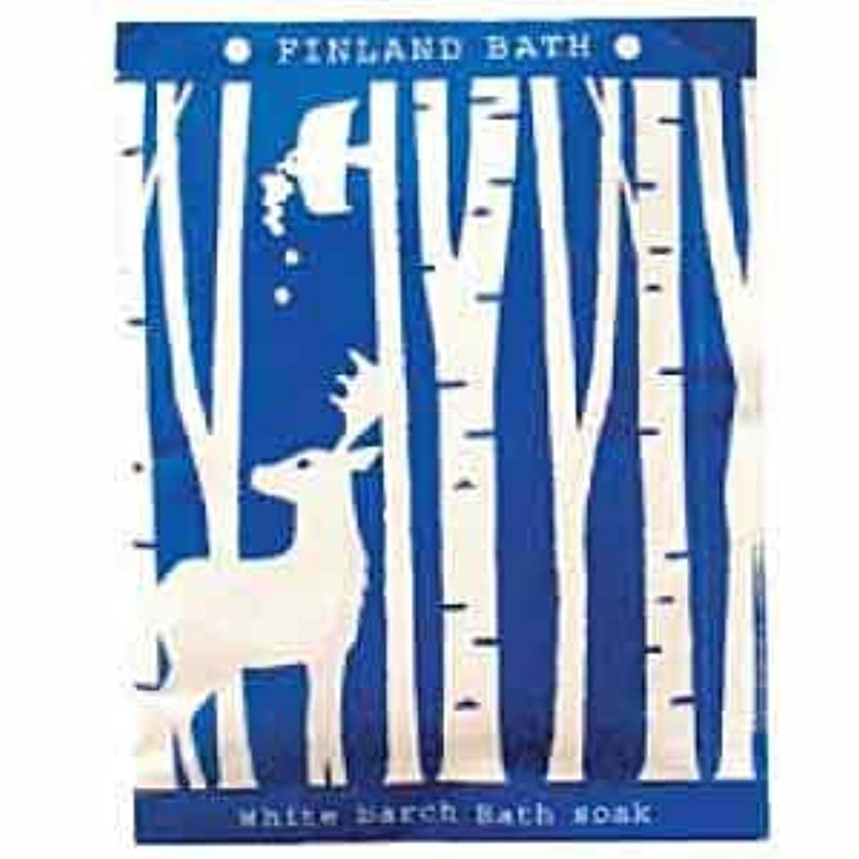 ペンダント規定仮説フィンランドバスソーク50g ホワイトバーチ 12個セット