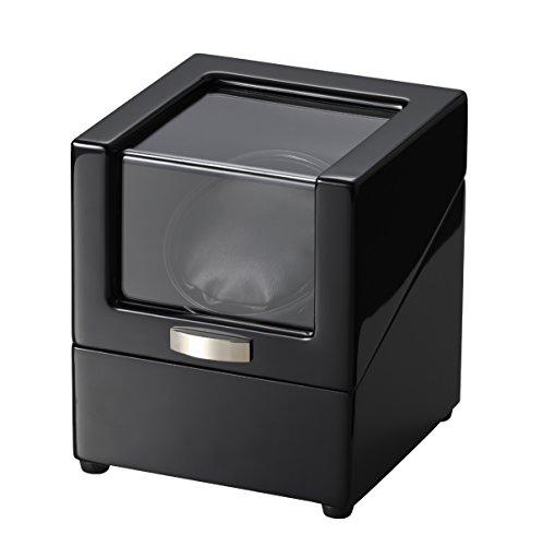 木製ワインディングマシーン 2電源対応 ウォッチワインダー ...