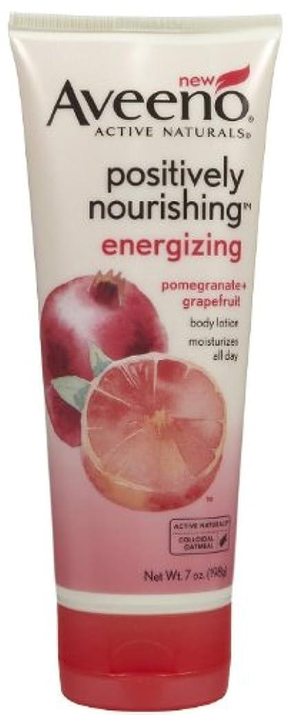 オリエンテーションネイティブスマッシュAveeno Positively Nourishing Energizing Lotion, 7 Ounce