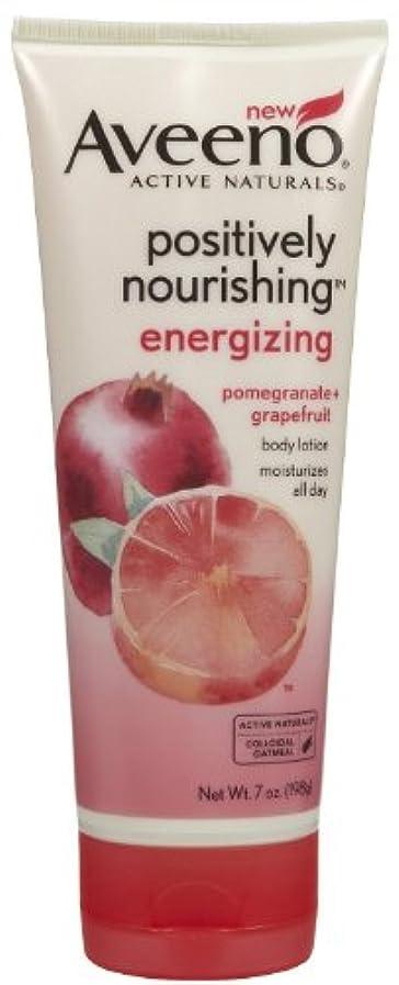 製油所太鼓腹サラミAveeno Positively Nourishing Energizing Lotion, 7 Ounce
