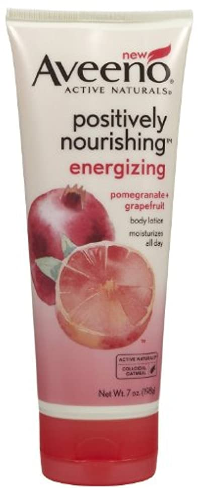 貨物終了しましたAveeno Positively Nourishing Energizing Lotion, 7 Ounce