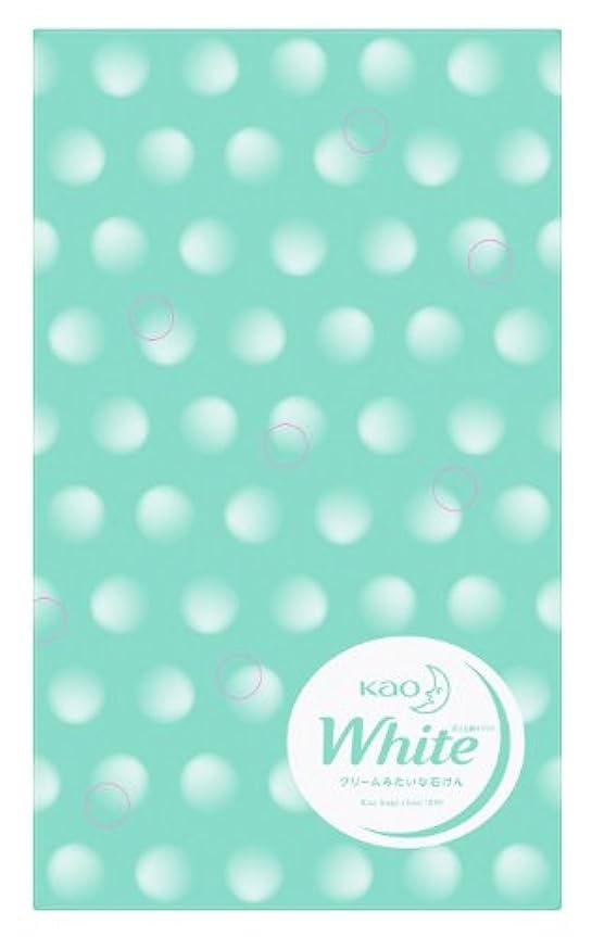 バルコニーバーチャルつづり花王ホワイト 普通サイズ 10コ包装デザイン箱