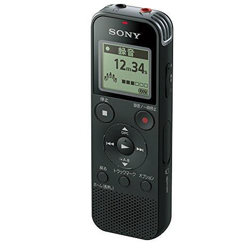 ソニー SONY ICレコーダー ICD-PX470F : 4GB リニアPCM録音対応 ブラック ICD-PX470F B