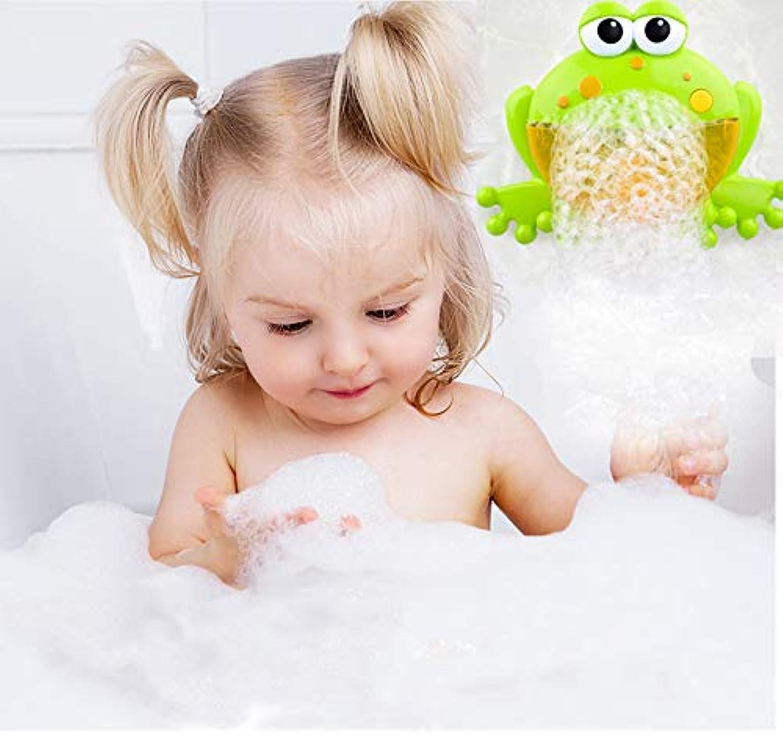 カエル シャボン玉 バブルマシーン しゃぼんだま液 電動マシーン 動物 シャボン玉液 12音楽付き お風呂用おもちゃ 水遊び 子供 赤ちゃん お風呂 入浴 おもちゃ バブルメー