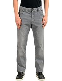 Versace メンズ コレクションのトレンドストレートレッグ古典的なジーンズのサイズ