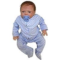 Binglinghua 18インチ46 cm Reborn Toddler人形Handmade Lifelikeベビーシリコンビニール人形
