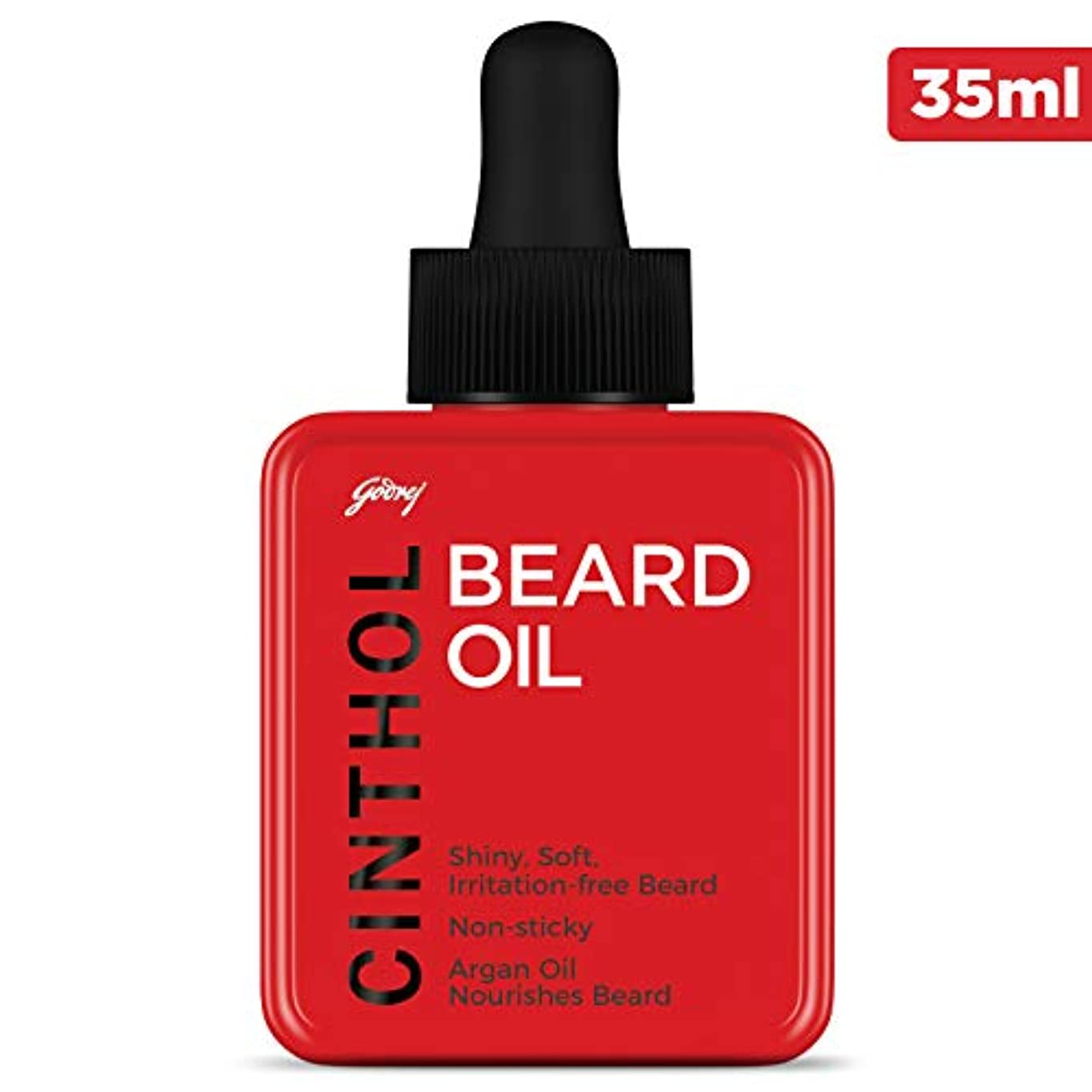 で出来ている修理可能百年Cinthol Beard Oil, 35ml …