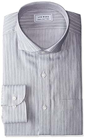 [アオキ] 【シャツ】形態安定 カッタウェイスナップボタンダウンシャツ 選べるバリエーション EBLM1473 メンズ グレーEBLM1475 日本 L (日本サイズL相当)