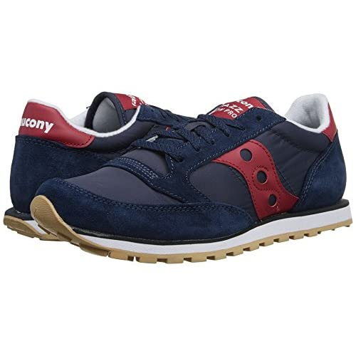 (サッカニー) SAUCONY 靴・シューズ メンズスニーカー Saucony Originals Jazz Low Pro Navy/Red US 9 (27cm) D