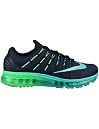 Nike Air Max 2016 Mens Running Trainers 806771 Sneakers Shoes (Uk 11 Us 12 Eu 46,black metallic turquoise 003)