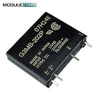 5PCS G3MB-202P DC-AC PCB SSR入力12VDC AC 2A出力240VソリッドステートリレーモジュールS