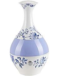 器具が大容量超音波セラミック加湿器Aroma Diffuser装飾花瓶形状12033 12033 。