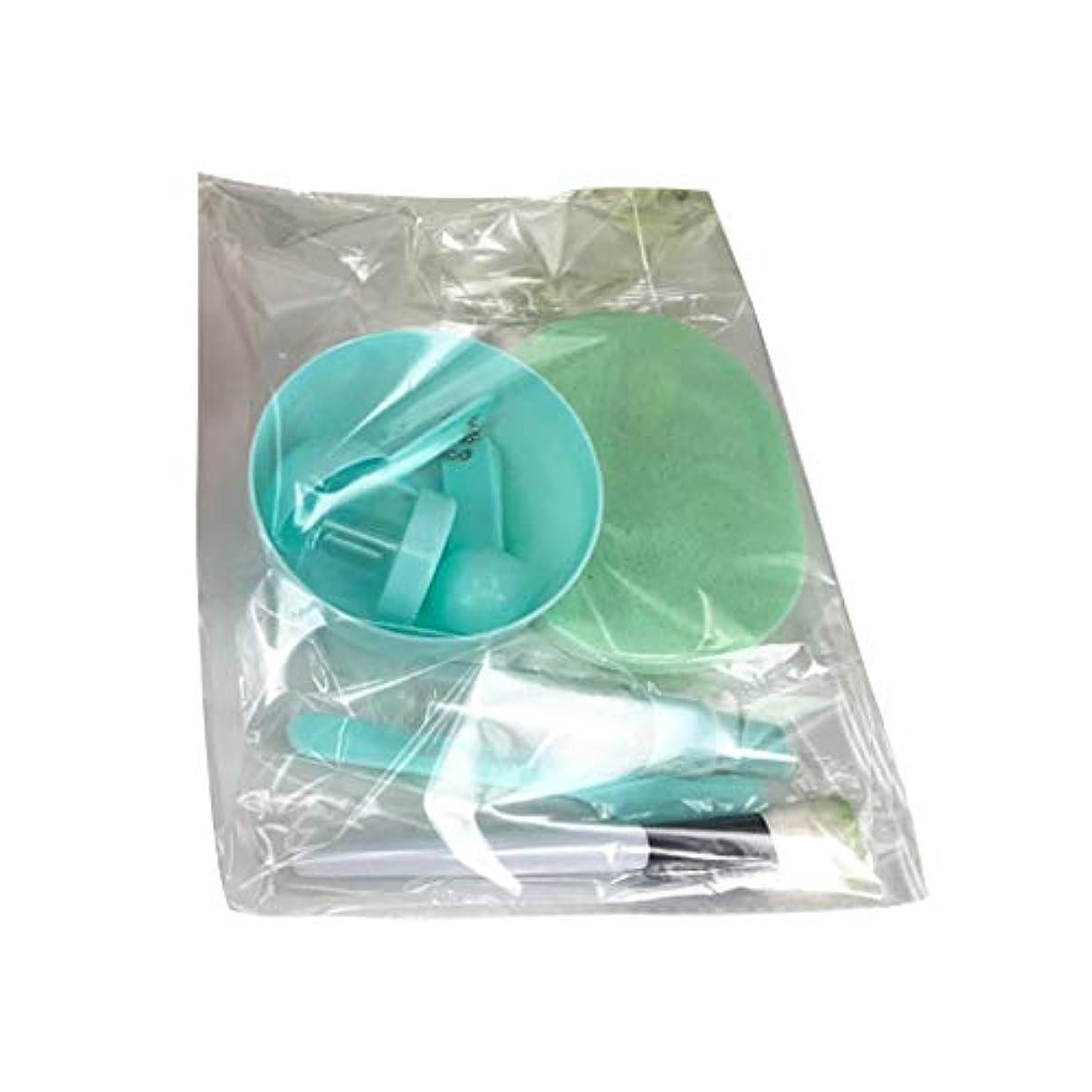四四グローバルVonarly 美容パック用道具 マスクツール プラスチックボウル メイクアップツール フェイシャルマスクツール 9点セット DIY用品 スライム用ボウル サロン用具 全3色あり