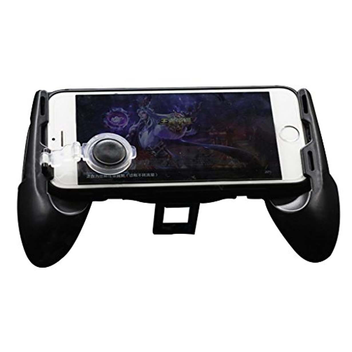 City-Center コントローラー ハンドルホルダー ジョイスティック付き 携帯電話適用 人体工学 MOBA FPS ACT ゲームに適用 操作が簡単