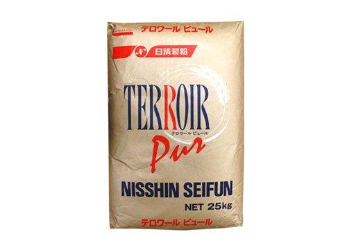 日清製粉 テロワールピュール フランスパン用 準強力粉 25kg 業務用