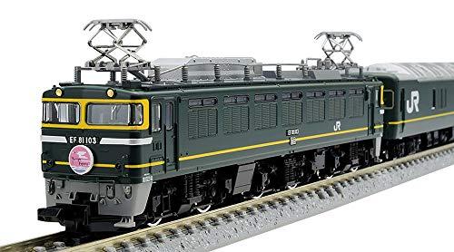 TOMIX Nゲージ 限定 EF81 ・ 24系 トワイライトエクスプレス ・ 登場時 セット 10両 97903 鉄道模型 客車