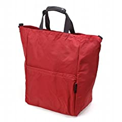 Standard Supply Simplicity Stand Up 2-way Tote: Red