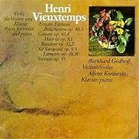 Vieuxtemps;Violin&Piano Pi.
