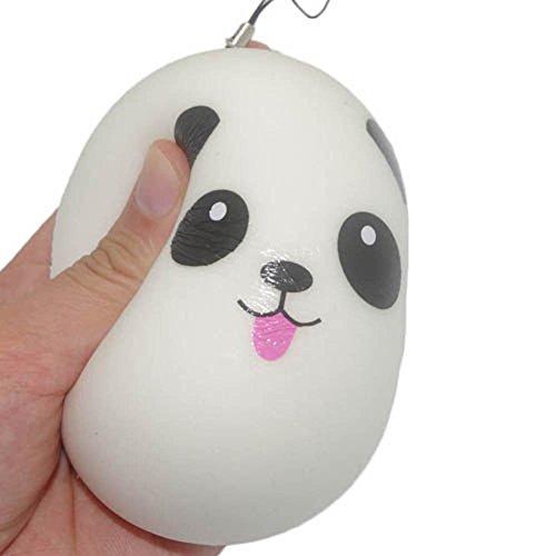[해외]1 개 귀여운 스퀴즈 팬더 빵 휴대 매력 가방 스트랩 저 반발 장식 펜던트 선물 장난감 Squeeze Toy/1 Cute Squeeze Panda Pan Mobile Charm Bag Strap Low Repulsion Decoration Pendant Present Toy Squeeze Toy
