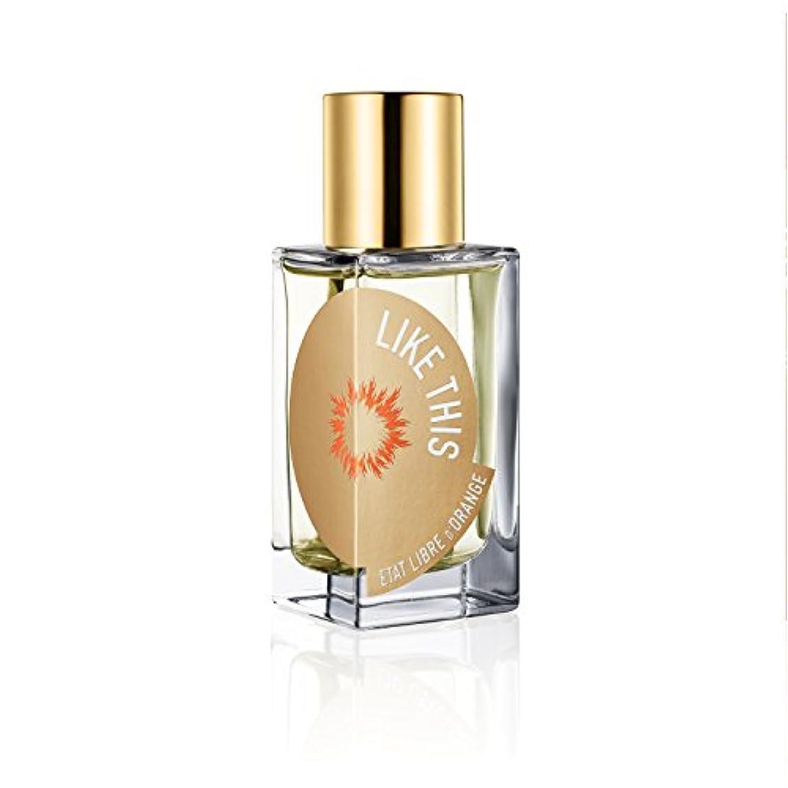 出発する雷雨ブレークEtat Libre D'Orange Tilda Swinton Like This EDP 50ml(エタ リーヴル ド ランジュ ティルダ スウィントン ライク ディス オードパルファン 50ml)[海外直送品]