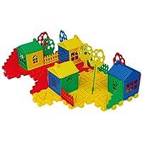 子供のプラスチック再生パズル建物ブロック教育レンガおもちゃMatching Fineモーターおもちゃfor Toddlers就学
