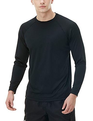 (テスラ)TESLA メンズ 水着 長袖 ラッシュガード スイムシャツ [UVカット UPF50+・吸汗速乾] スイムウェア スイミング SWIM MSS03-BLK_L