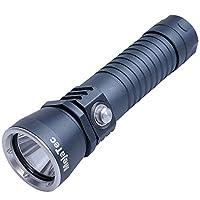 MejaTec LED ダイビングライト 水中懐中電灯 IPX8 防水100m 強力 超高輝度1500Lm 5000mAh電池とLCD表示充電器付き 防災 防犯 地震対策 アウトドアトドア