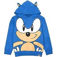 Sonic the Hedgehog Character 3D Ears Boy's Kids Blue Hoodie