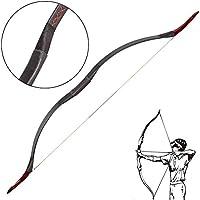 Toparchery アーチェリー 弓道具 伝統的 手作り 20-55lbs & 弓袋 & 矢袋