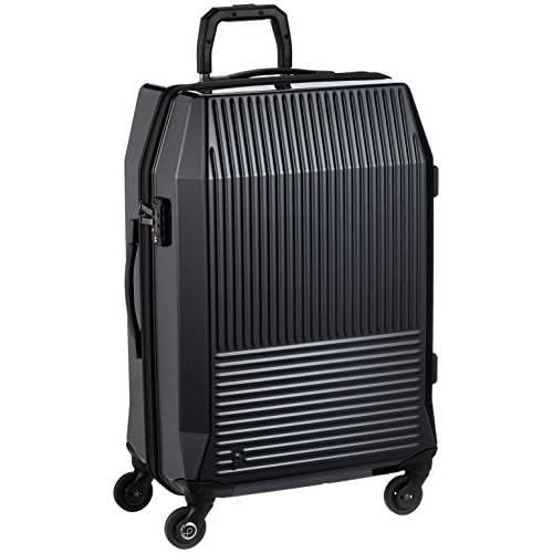 [プロテカ] スーツケース 日本製 フリーウォーカーD 3年保証付 サイレントキャスター 83L 67cm 4.6kg 02733 01 ブラック