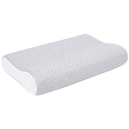 フランスベッド エアレートピロー スタンダードモデル 低反発枕 ソフト(やわらかめ) 【人間工学に基づいた特殊カッティング】洗える枕カバー 快眠