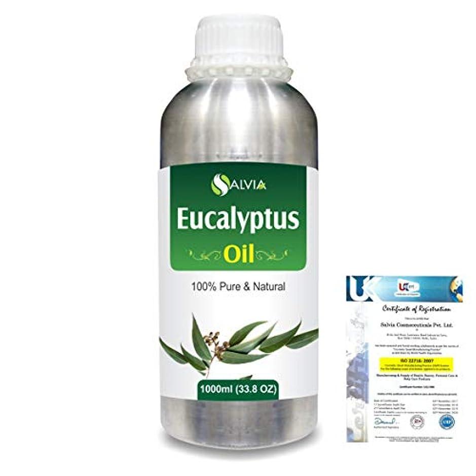 アカデミックその他マングルEucalyptus (Eucalyptus Globulus) 100% Natural Pure Essential Oil 1000ml/33.8fl.oz.