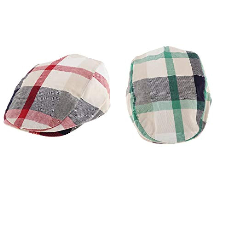 Baoblaze 赤ちゃん 少年 少女 ベレー帽 フラットキャップ ハンチング 帽子 ハット ハンチング帽