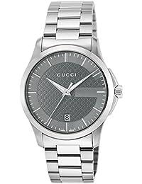 [グッチ]GUCCI 腕時計 Gタイムレス グレー文字盤 YA126441 メンズ 【並行輸入品】