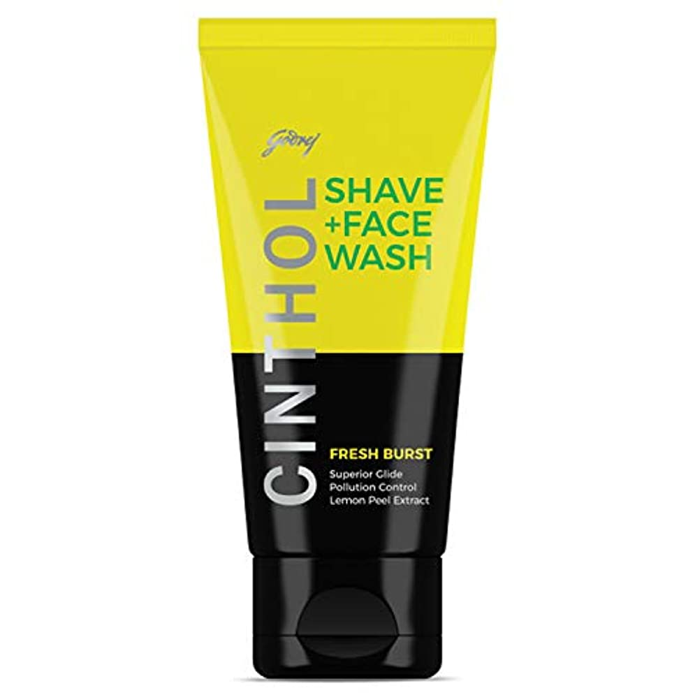 である怒っている気質Cinthol Fresh Burst Shaving + Face Wash, 50g