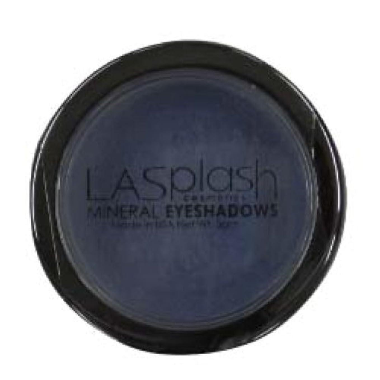 リップ待って勝者LASplash ミネラルアイスパークルアイシャドウダークブルー249