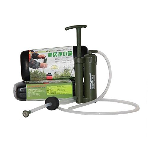 ミニ 携帯用 浄水器 ポータブル水フィル...