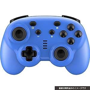 CYBER ・ ジャイロコントローラー ミニ 無線タイプ ( SWITCH 用) ブルー - Switch