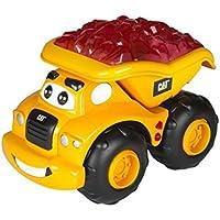 Toy State Caterpillar CAT Buildin' Crew Lightning Load Haulin' Harry Dump Truck Light & Sound Vehicle [並行輸入品]