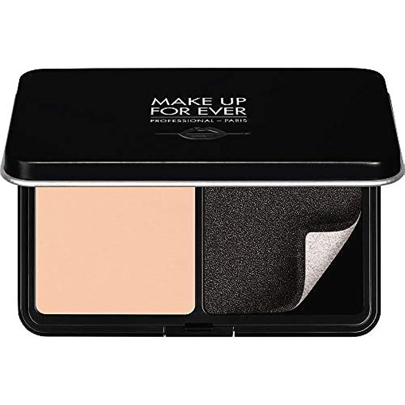 覗く社交的アサート[MAKE UP FOR EVER ] パウダーファンデーション11GののR210をぼかし、これまでマットベルベットの肌を補う - ピンクアラバスター - MAKE UP FOR EVER Matte Velvet Skin...