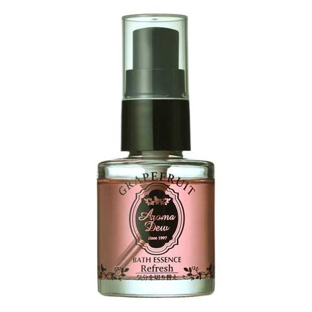 砂暴君競うアロマデュウ 香りのバスエッセンス グレープフルーツの香り 27ml