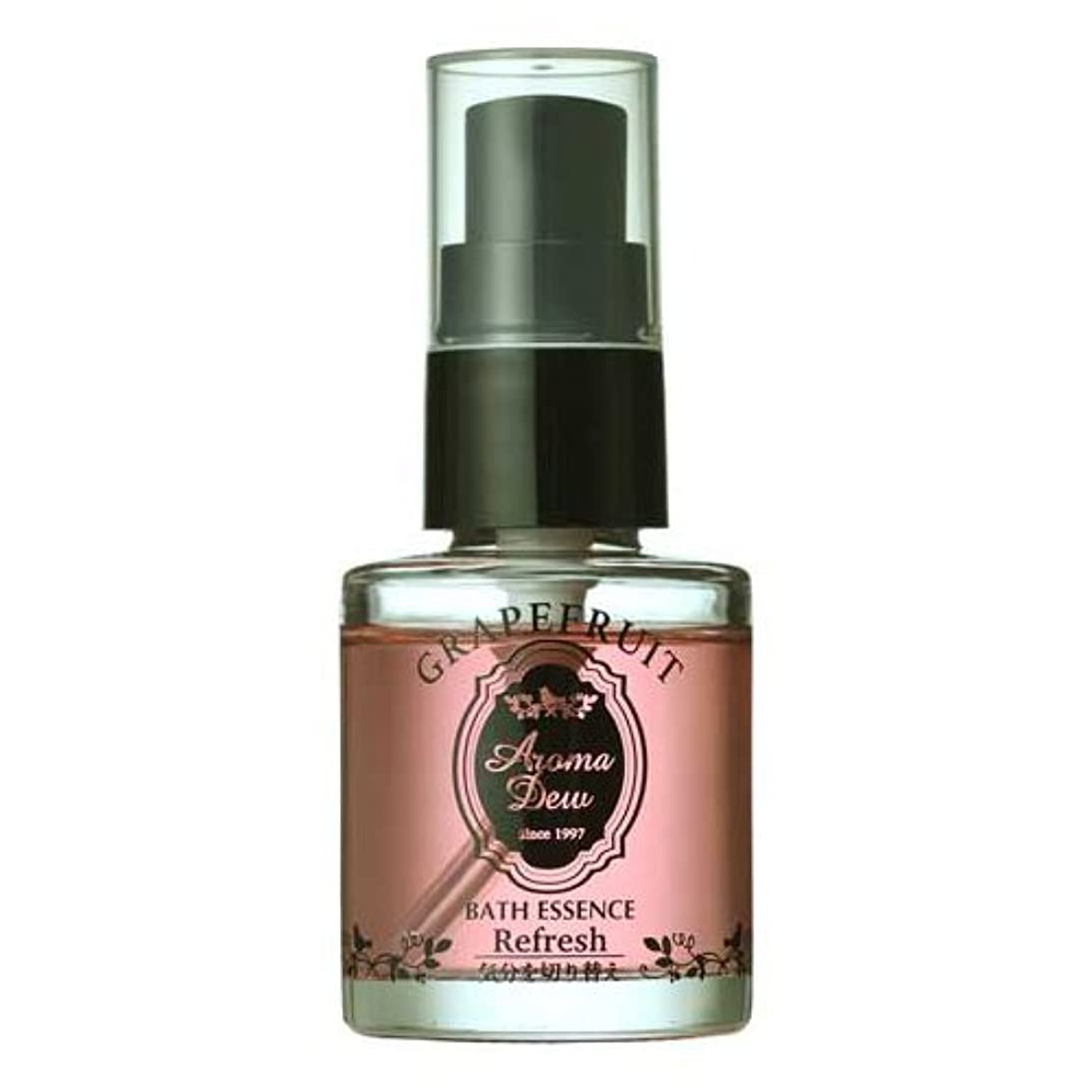 ルネッサンス行き当たりばったり要求アロマデュウ 香りのバスエッセンス グレープフルーツの香り 27ml