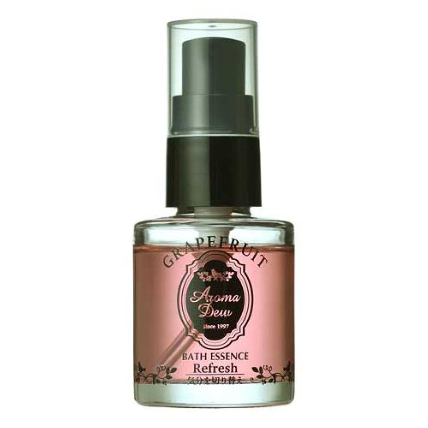 割り当てます山岳取得アロマデュウ 香りのバスエッセンス グレープフルーツの香り 27ml