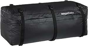 Amazonベーシック ヒッチラック カーゴキャリーバッグ (269L→326L容量拡張可能) ブラック